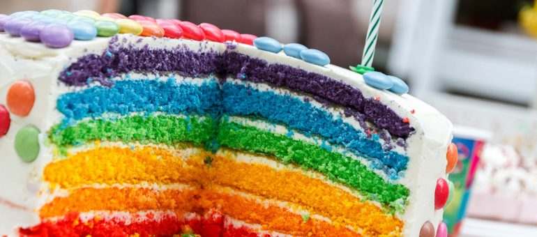 Kuchen als Geschenkidee